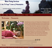 Mind Body Services (Yoga Studio Site)