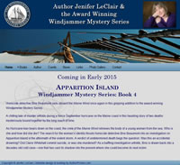 Windjammer Mysteries (Jenifer LeClair Author Site)